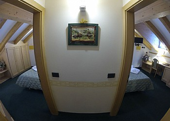 3 stars Hotels in Canazei (***) in Canazei. Double Rooms connected-Family Room
