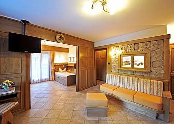 Residences a Moena. soggiorno