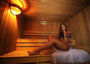 Privati a Moena. sauna e cabina infrarossi