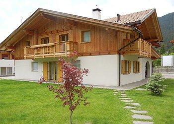 Wohnung - San Giovanni di Fassa - Pozza - Außenansicht Sommer - Photo ID 1105