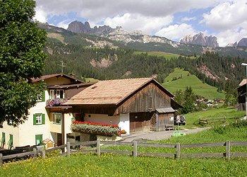 Wohnung - Soraga - Außenansicht Sommer - Photo ID 1157