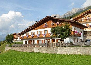 Ferienwohnungen Moena: Villa Borghet