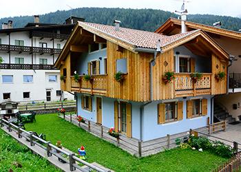 Wohnung - Soraga - Außenansicht Sommer - Photo ID 1172