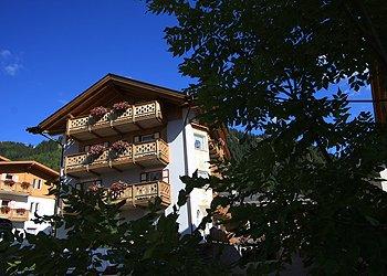 Wohnung - Canazei - Außenansicht Sommer - Photo ID 1267