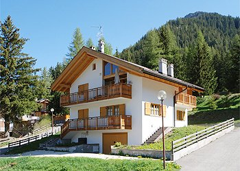 Wohnung - San Giovanni di Fassa - Pozza - Außenansicht Sommer - Photo ID 1291