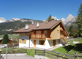 Wohnung - San Giovanni di Fassa - Pozza - Außenansicht Sommer - Photo ID 1292