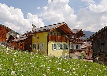 Wohnung - San Giovanni di Fassa - Vigo  - Außenansicht Sommer - Photo ID 1297