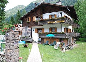 Wohnung - Alba di Canazei - Außenansicht Sommer - Photo ID 1316