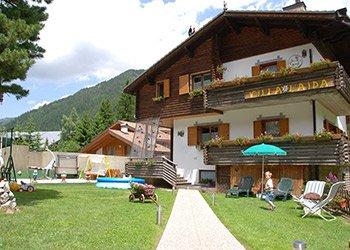 Wohnung - Alba di Canazei - Außenansicht Sommer - Photo ID 1317