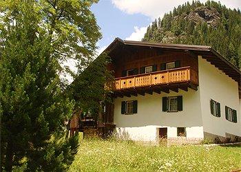Wohnung - Penia di Canazei - Außenansicht Sommer - Photo ID 1367