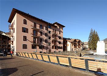 Wohnung - Moena - Außenansicht Winter - Photo ID 1394