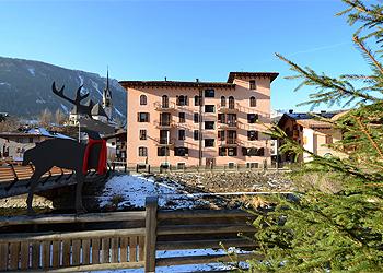 Wohnung - Moena - Außenansicht Winter - Photo ID 1395
