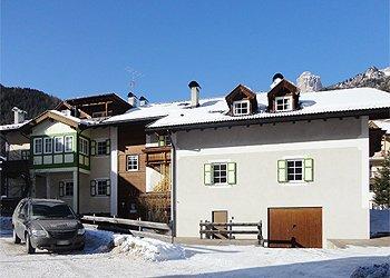 Bytě - Campitello di Fassa - Zvenčí - v zimě - Photo ID 1413