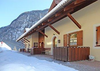 Bytě - Campitello di Fassa - Zvenčí - v zimě - Photo ID 1416