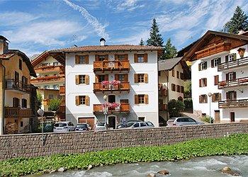 Wohnung - Moena - Außenansicht Sommer - Photo ID 1491