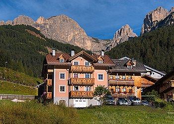 Wohnung - San Giovanni di Fassa - Vigo  - Außenansicht Sommer - Photo ID 1520