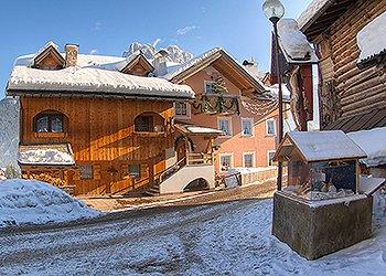 Wohnung - San Giovanni di Fassa - Vigo  - Außenansicht Winter - Photo ID 1522