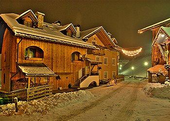 Wohnung - San Giovanni di Fassa - Vigo  - Außenansicht Winter - Photo ID 1523