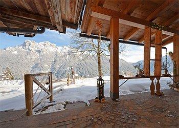 Wohnung - San Giovanni di Fassa - Vigo  - Außenansicht Winter - Photo ID 1564