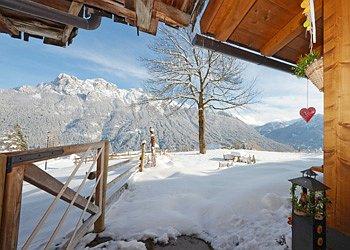Wohnung - San Giovanni di Fassa - Vigo  - Außenansicht Winter - Photo ID 1565