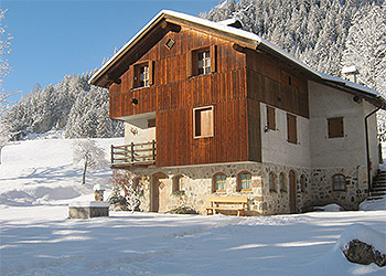 Apartments Moena: Baita Chalet Val - Deville Maurizio