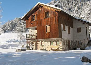 Ferienwohnungen Moena: Baita Chalet Val - Deville Maurizio