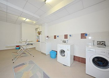 Apartment in Canazei. Laundry