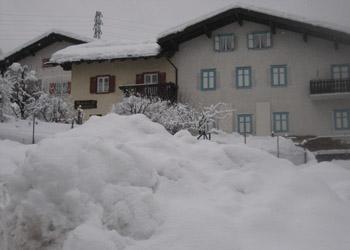 Wohnung - Soraga - Außenansicht Winter - Photo ID 1749