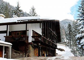 Ubytovna - Canazei - Zvenčí - v zimě - Photo ID 182