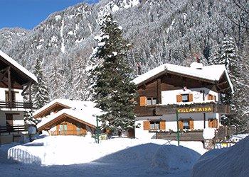 Wohnung - Alba di Canazei - Außenansicht Winter - Photo ID 1848