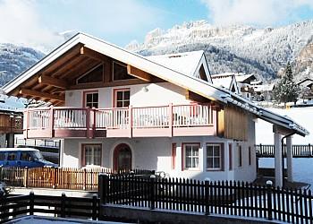 Wohnung - San Giovanni di Fassa - Vigo - Außenansicht Winter - Photo ID 2014