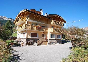 Wohnung - San Giovanni di Fassa - Vigo  - Außenansicht Sommer - Photo ID 216