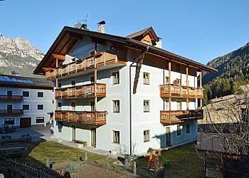 Wohnung - San Giovanni di Fassa - Pozza - Außenansicht Winter - Photo ID 2298