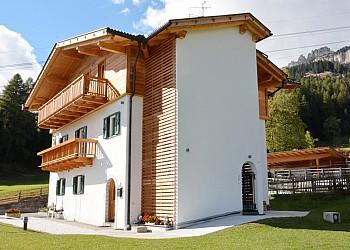 Wohnung - San Giovanni di Fassa - Vigo  - Außenansicht Sommer - Photo ID 2348