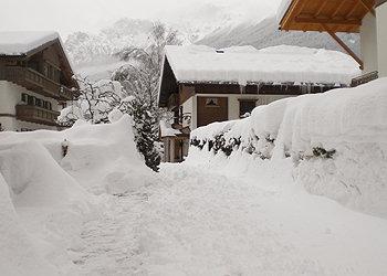 Residence - Moena - Außenansicht Winter - Photo ID 27