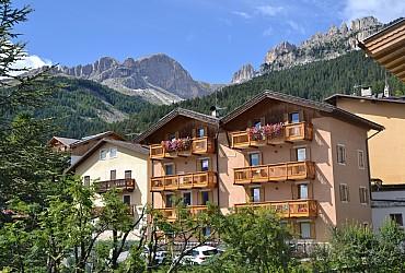 Wohnung - San Giovanni di Fassa - Vigo - Außenansicht Sommer - Photo ID 2720