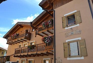 Wohnung - San Giovanni di Fassa - Vigo - Außenansicht Sommer - Photo ID 2723