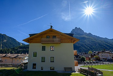 Wohnung - San Giovanni di Fassa - Pozza - Außenansicht - Photo ID 2729