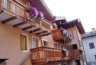 Wohnung - San Giovanni di Fassa - Vigo - Außenansicht Sommer - Photo ID 2742