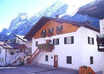 Wohnung - Penia di Canazei - Außenansicht Sommer - Photo ID 276