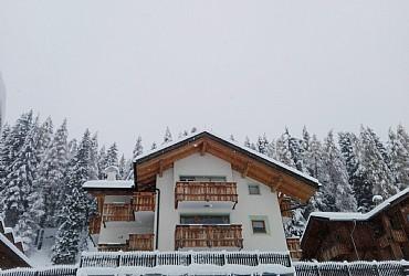 Wohnung - San Giovanni di Fassa - Pozza - Außenansicht Winter - Photo ID 2788