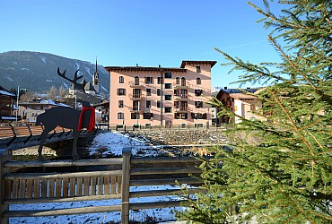 Wohnung - Moena - Außenansicht Winter - Photo ID 2835