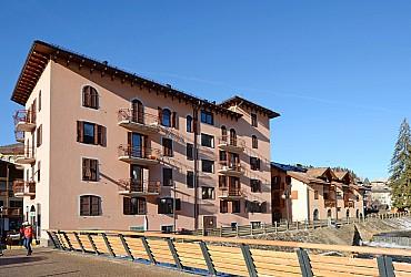 Wohnung - Moena - Außenansicht Winter - Photo ID 2836