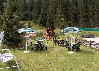 Apartment in Canazei. In summertime we offer: