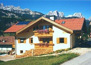 Wohnung - Soraga - Außenansicht Sommer - Photo ID 363