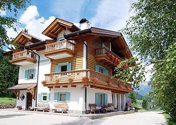 Wohnung - Soraga - Außenansicht Sommer - Photo ID 402