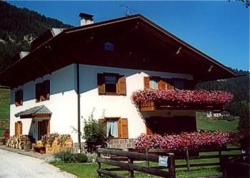 Bytě - San Giovanni di Fassa - Pozza - Zvenčí - v létě - Photo ID 416