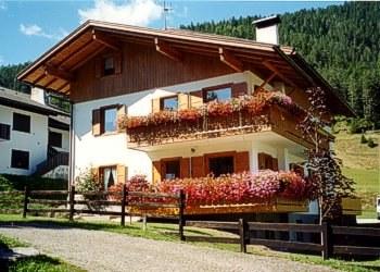 Wohnung - San Giovanni di Fassa - Pozza - Außenansicht Sommer - Photo ID 521