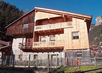Appartamenti Mazzin di Fassa: Casa Trottner - Christina Depaul