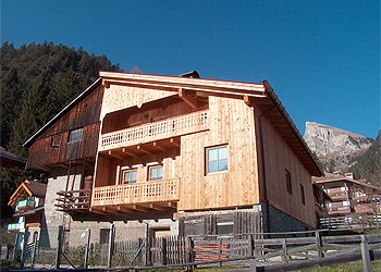 Apartment in Mazzin di Fassa. HOUSE TROTTNER 